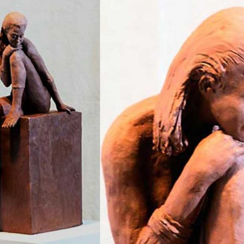 Day Dreaming sculpture